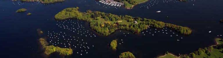 Belle Isle in Lake Windermere