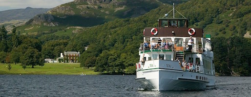 Dalemain Mansion and Gardens for Balloon Flights near Ullswater